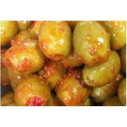 spicy pimento cornish olives