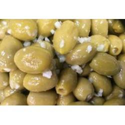 garlic stuffed cornish olives