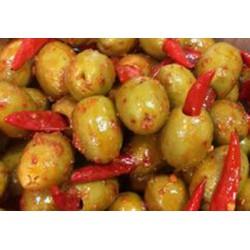 red hot chilli cornish olives