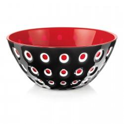 le murrine bowl red/balck 25cm
